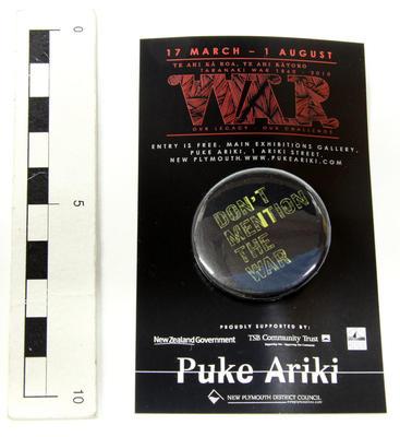 Badge, Pin; Circa 2010; PA2010.106