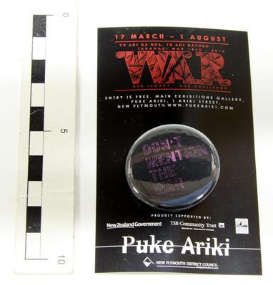 Badge, Pin; Circa 2010; PA2010.107