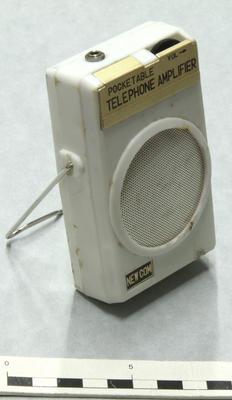 Amplifier, Telephone