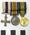 Medal, British War (Miniature)